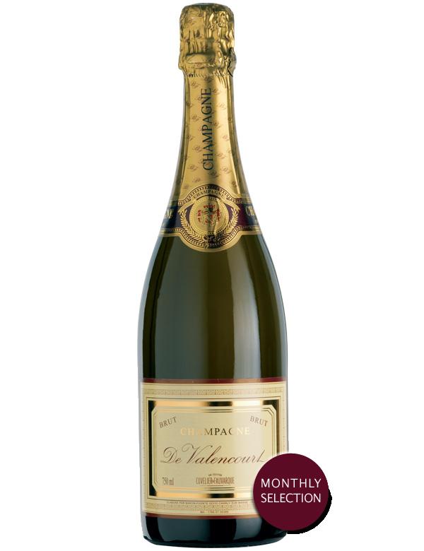 De valencourt brut blanc selection mois wine palette - Mois du blanc 2017 ...