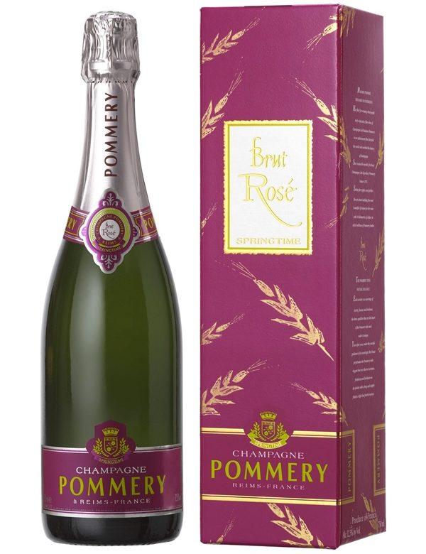 CHAMP POMMERY ROSE SPRINGTIME